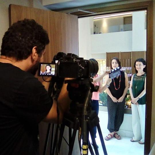 filming MOOC